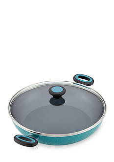 Paula Deen 12.5-in. Riverbend Aluminum Nonstick Covered Chicken Fryer with Side Handles