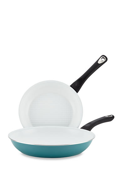 Farberware Ceramic Nonstick Cookware Twin Pack 9.25-in. and 11.5-in. Skillets