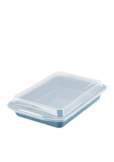 Paula Deen 13-in. Nonstick Covered Rectangle Cake Pan