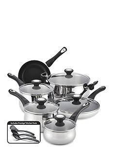 Farberware New Traditions Stainless Steel 14-Piece Cookware Set - Online Only