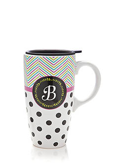 Home Accents® B Latte Mug with Gift Box