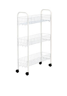 Household Essentials® White Utility Cart - Online Only