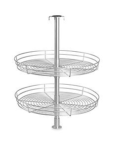 Household Essentials Double Tier Round Lazy Susan