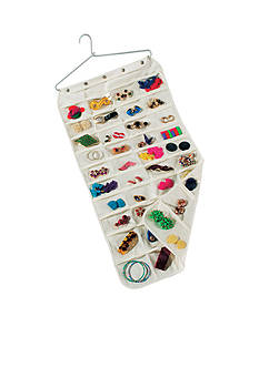 Household Essentials® 80 Pocket Canvas Jewelry Organizer - Online Only