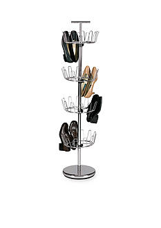 Household Essentials 4-Tier Revolving Shoe Tree - Online Only