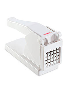 Leifheit Potato Slicer (French Fries), White W/Red Accent