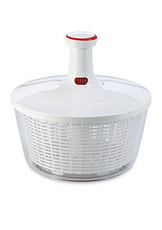 Leifheit Large Twist Pump Salad Spinner, white