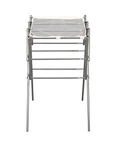 Household Essentials® Expandable Clothes Drying Rack, Silver - Online Only
