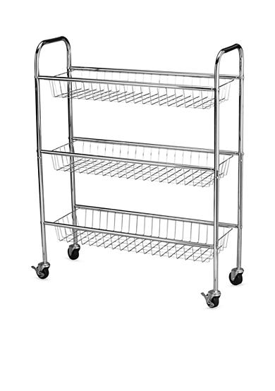 Household Essentials® 9-in. Utility Cart, Chrome - Online Only
