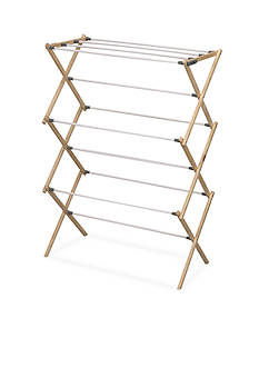 Household Essentials® Pine Wood X-Frame Drying Rack - Online Only