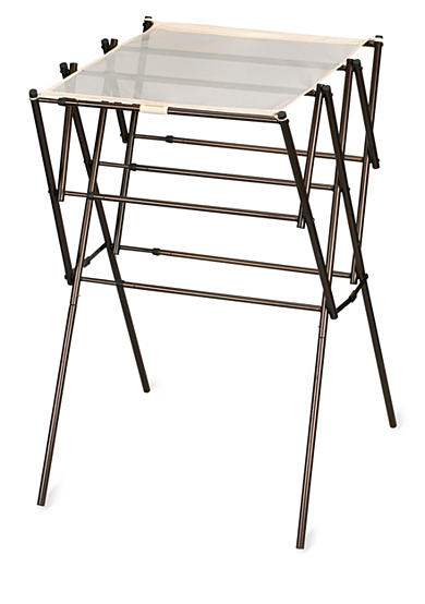 Household Essentials&reg; Expandable Clothes Drying Rack, Antique bronze - Online Only<br>
