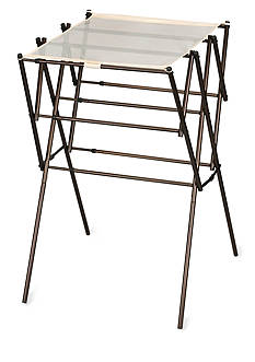 Household Essentials Expandable Clothes Drying Rack, Antique bronze - Online Only