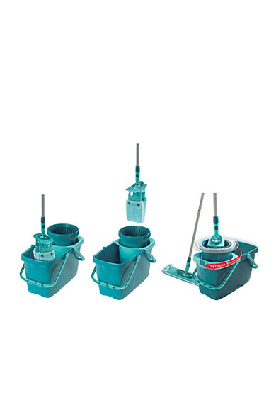 Leifheit Clean Twist Mop (round) Set with Mop and Spin Bucket