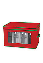 Holiday China Stemware/Balloon Storage Chest - 8.5-in. x 18.5-in. x 14-in.