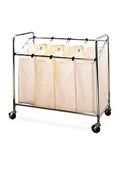 Household Essentials Chrome Heavy Duty Quad Sorter - Online Only