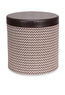 Household Essentials® Round Storage Ottoman