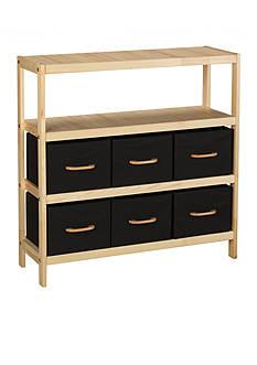 Household Essentials Wooden Storage Stand - Online Only