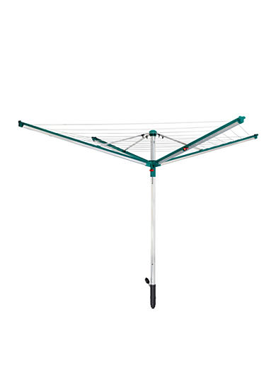 Leifheit Linomatic 500 Deluxe Umbrella Clothesline with Self-Retracting Lines - Online Only