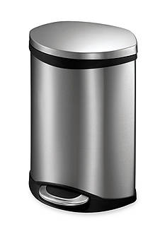 EKO® Six Liter Shell Step Bin With Hands Free Operation - Online Only
