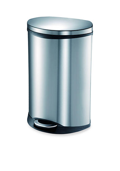 EKO® 50 Liter Step Bin Stainless Trash Can With Hands-Free Open and Close - Online Only