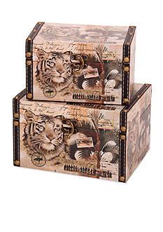 Household Essentials Animal Kingdom Storage Boxes Set