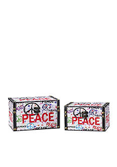 Household Essentials Peace Storage Box Set