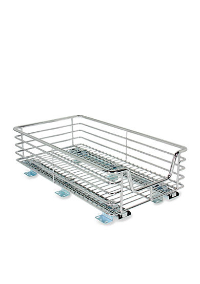 Household Essentials® 11.5-in. Extra Deep Sliding Organizer-Chrome Single Pack