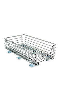 Household Essentials 11.5-in. Extra Deep Sliding Organizer-Chrome Single Pack