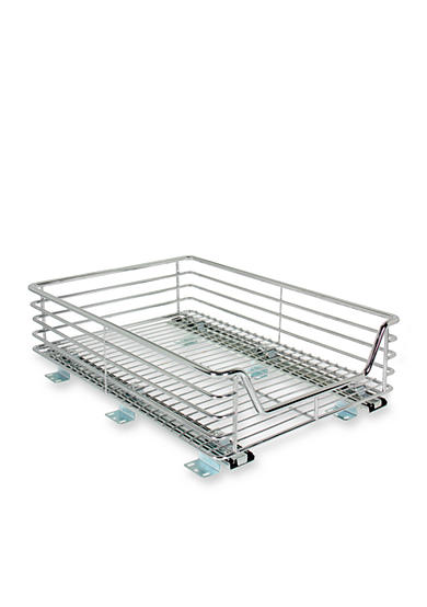 Household Essentials® 14.5-in. Sliding Organizer-Chrome Single Pack