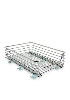 Household Essentials 14.5-in. Sliding Organizer-Chrome Single Pack