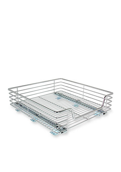 Glidez™ 20-in. Extra Deep Sliding Organizer-Chrome Single Pack
