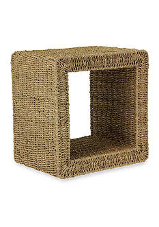 Household Essentials® Seagrass Wicker End Table - Online Only