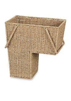 Household Essentials® Seagrass Stair Basket with Handles - Online Only