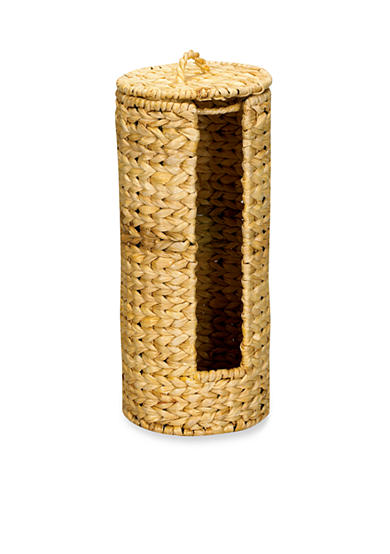 Household Essentials® Banana Leaf Wicker Toilet Paper Holder - Online Only
