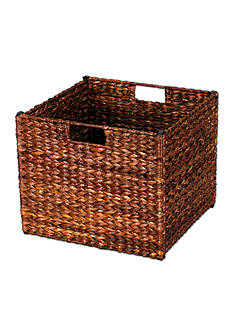 Household Essentials® Banana Leaf Wicker Storage Bin - Online Only