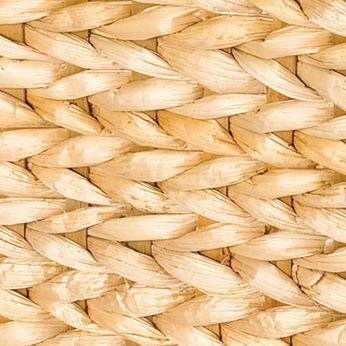 Home Organization: Banana Leaf Natural Household Essentials Banana Leaf Wicker Storage Bin - Online Only