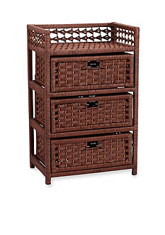 Household Essentials® Paper Rope 3-Drawer Chest - Online Only