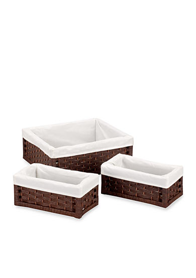 Household Essentials® Paper Rope Utility Basket (Set of 3)  Online Only