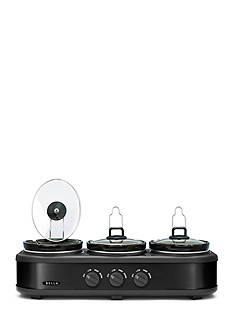 Bella 3x1.5 Qt Triple Slow Cooker BLA14582