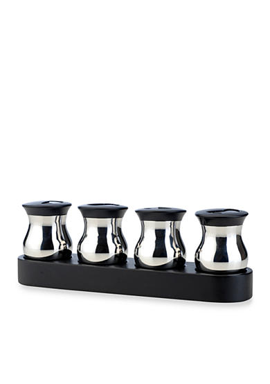 Berghoff zeno 5 piece condiment set belk for Zeno kitchen set