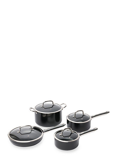 Berghoff boreal non stick 8 piece cookware set belk for Kitchen set non stick