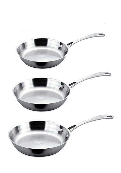 BergHOFF® Copper Clad 3-Piece Frypan Set
