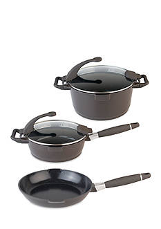 BergHOFF Virgo 5-Piece Cast Aluminum Cookware Set