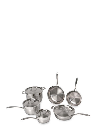 BergHOFF® 10-Piece Earthchef Copper Clad Cookware Set