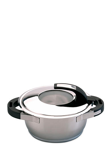 BergHOFF® Virgo 7-in. Stainless Steel Covered Casserole