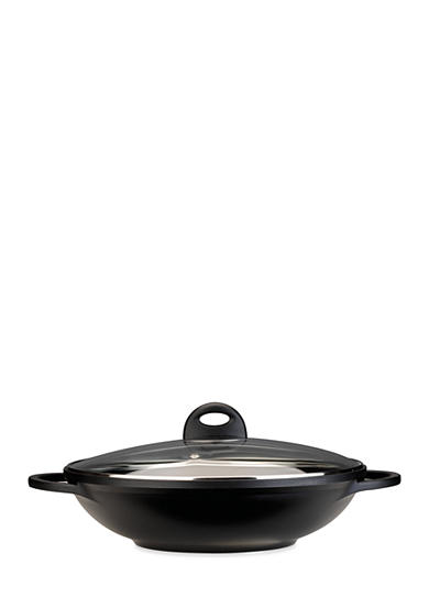 BergHOFF® Cook & Co 12.5-in. Cast Covered Wok