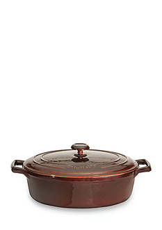 BergHOFF® 10-in. Cast Iron Covered Oval Casserole
