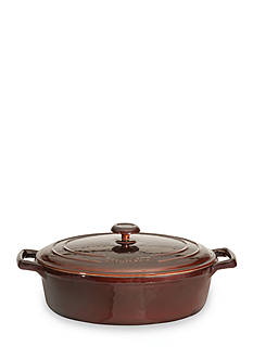 BergHOFF® Cast Iron 11-in. Covered Oval Casserole