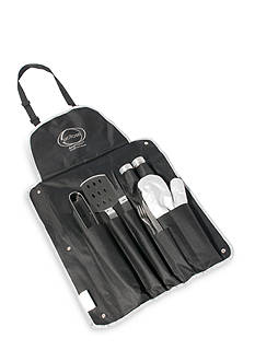 9-Piece Barbecue Set with Ergonomic Handles
