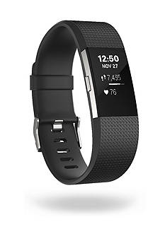 Fitbit ® Charge 2 Heart Rate + Fitness Wristband Rubber